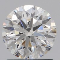 Round 1.01 Carat E Color SI1 Clarity Excellent Cut GIA Lab