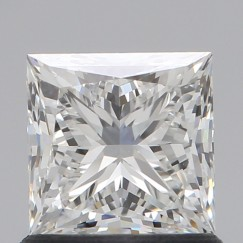 Princess 1.03 Carat G Color VS1 Clarity GIA Lab